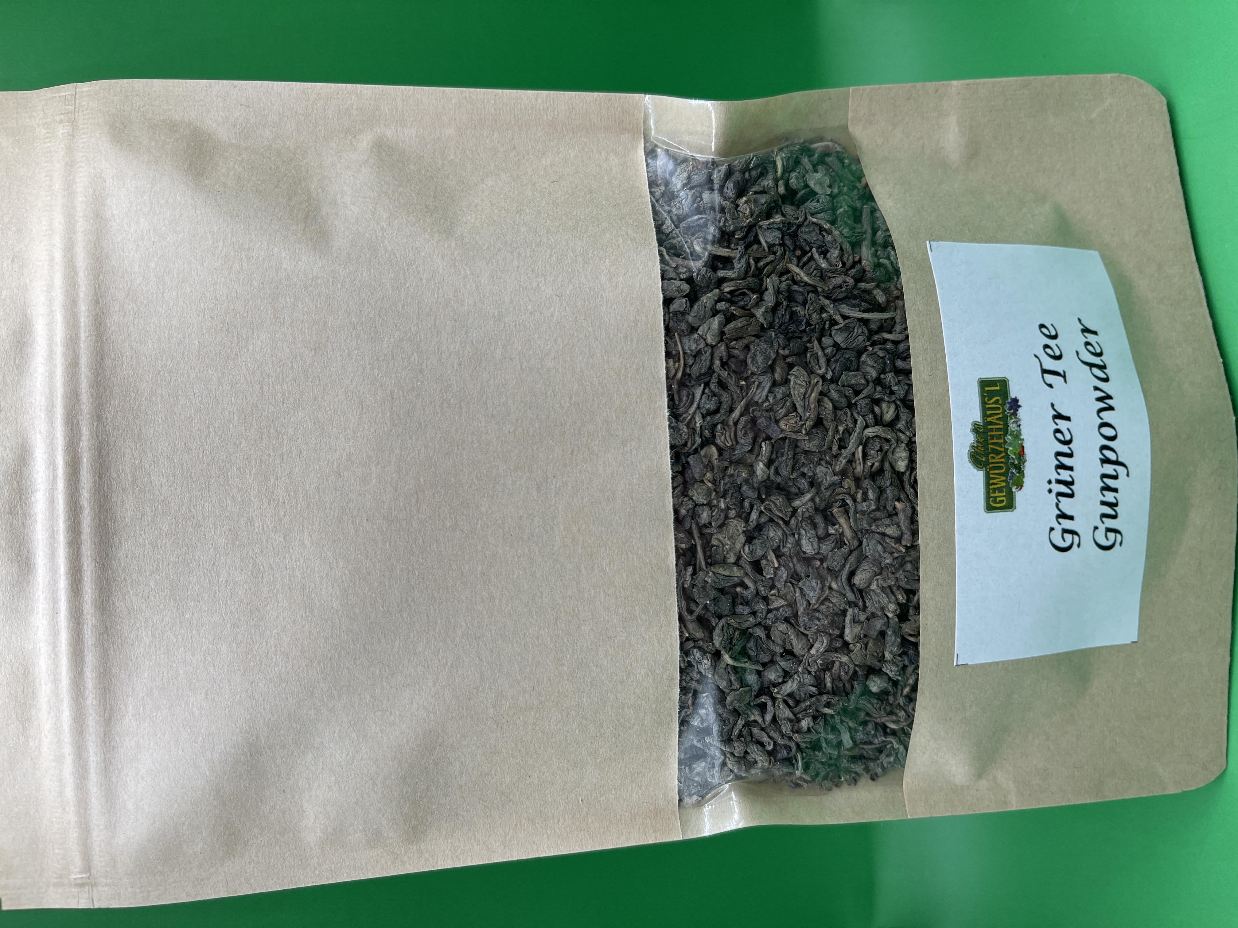 Grüner Tee Gunpowder 100 g