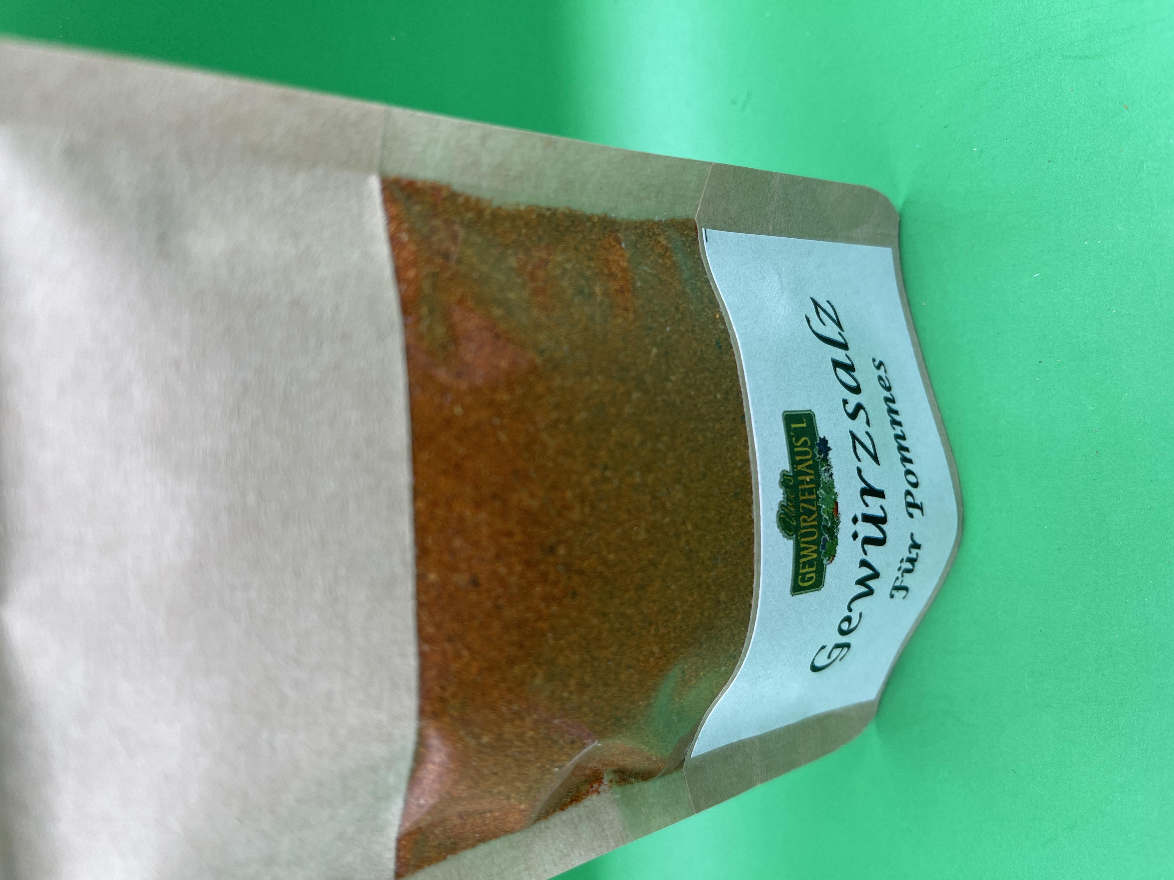 Gewürzsalz für Pommes 60 g