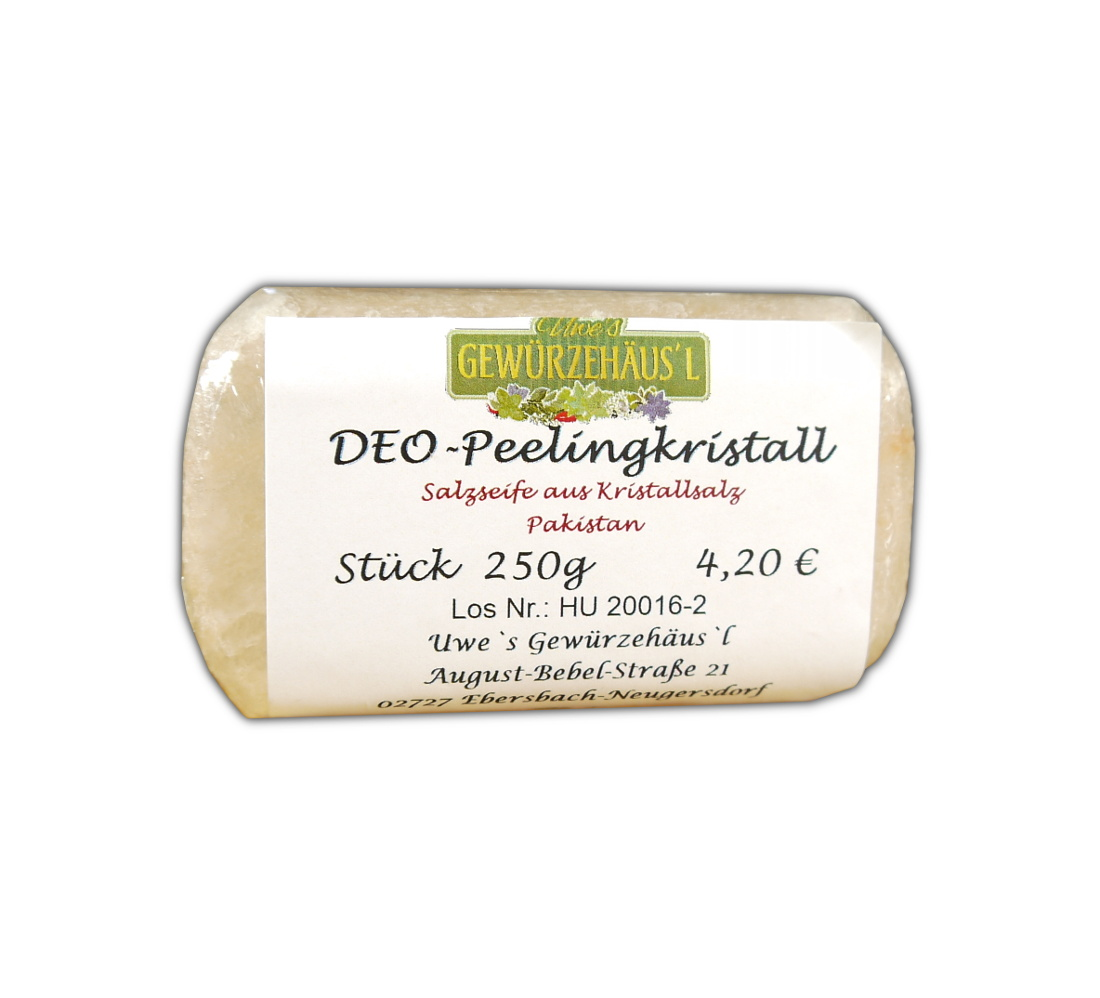 DEO Peelingkristall Salzeife