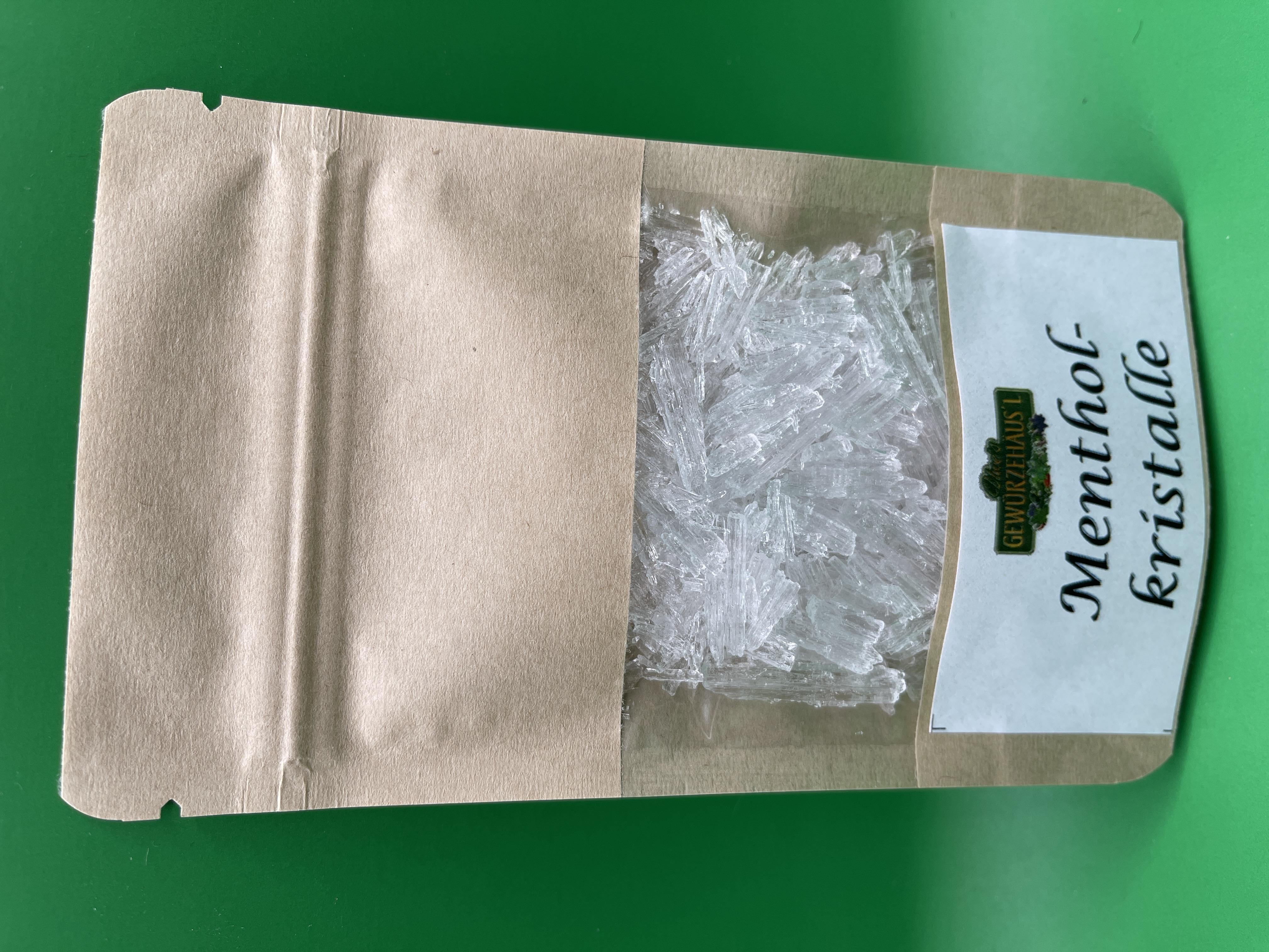 Menthol-Kristalle 20 g
