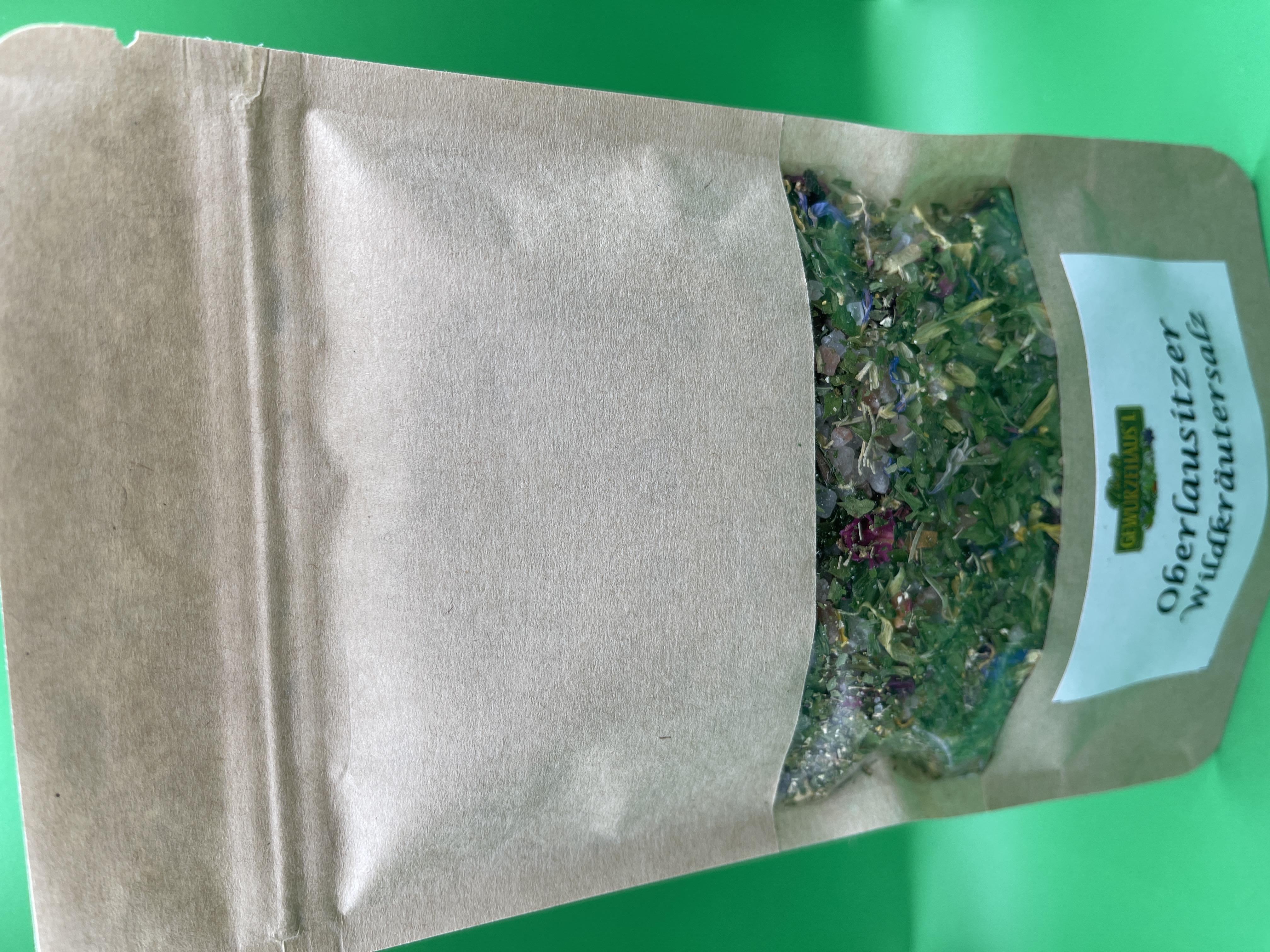 Oberlausitzer Wildkräutersalz Nachfüllbeutel 150 g