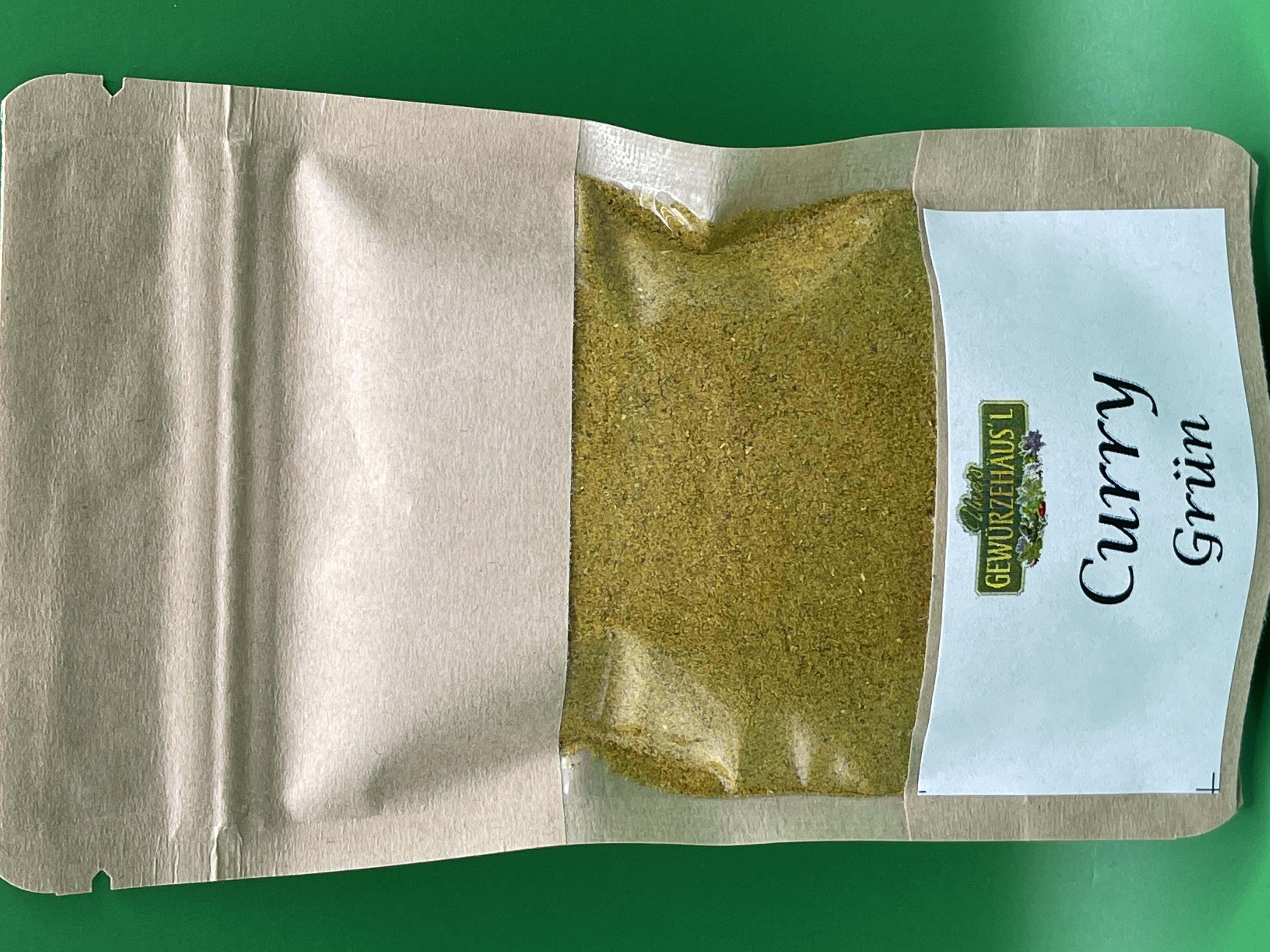 Curry Grün 40g
